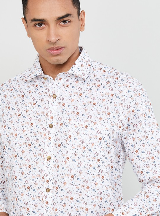 MAX Printed Smart Fit Casual Shirt