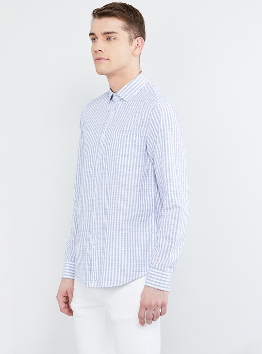 MAX Striped Casual Slim Fit Shirt