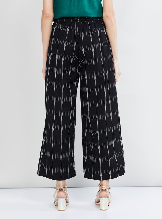 MAX Textured Woven Elasticated Palazzos