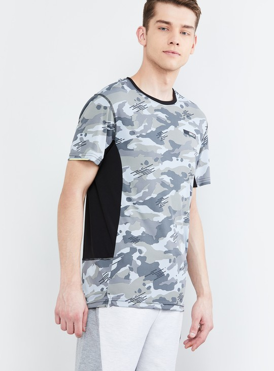 MAX Printed Slim Fit Crew Neck T-shirt