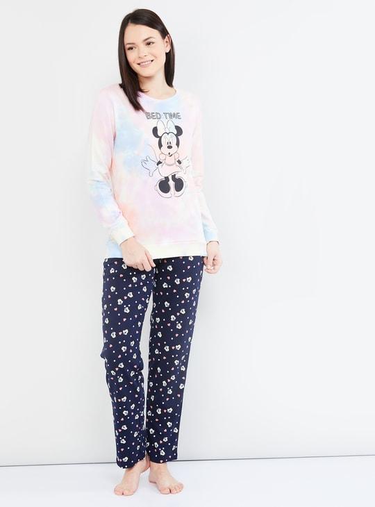 MAX Minnie Print Full Sleeves Sweatshirt