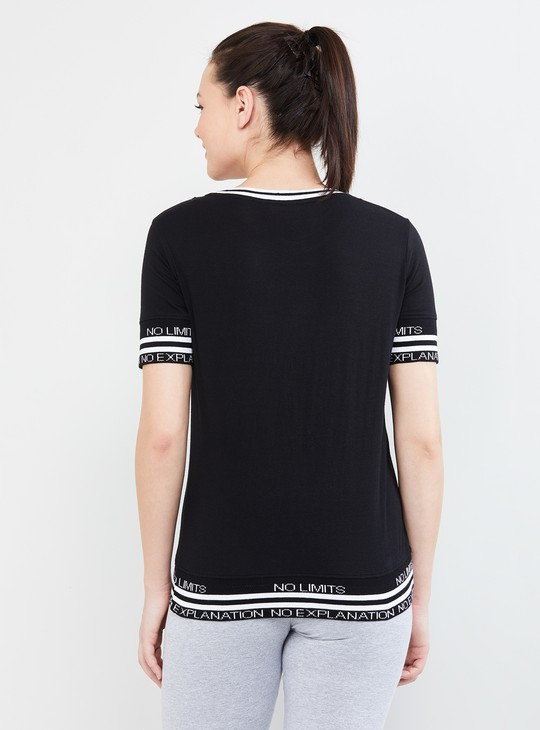 MAX Printed Tape Detailed Training Top
