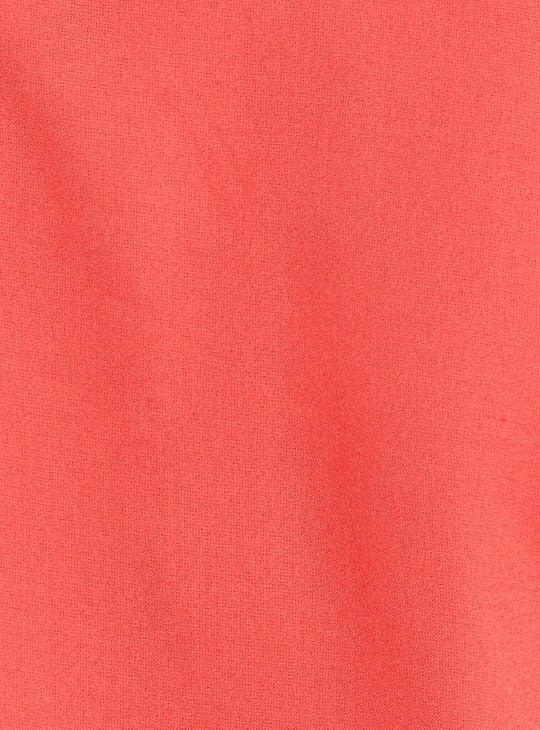 MAX Solid Three-quarter Sleeves Kurta