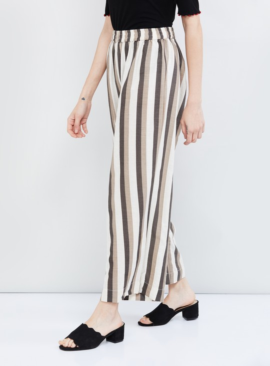 MAX Striped Woven Pants