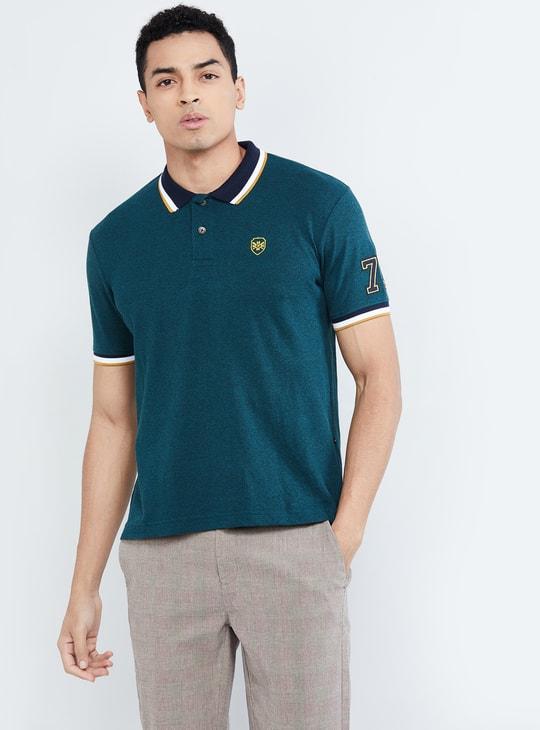 MAX Solid Short Sleeves Polo T-shirt