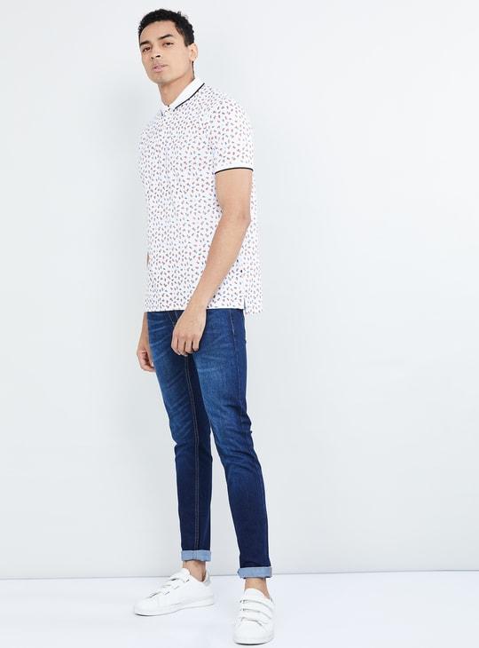 MAX Printed Short Sleeves Polo T-shirt