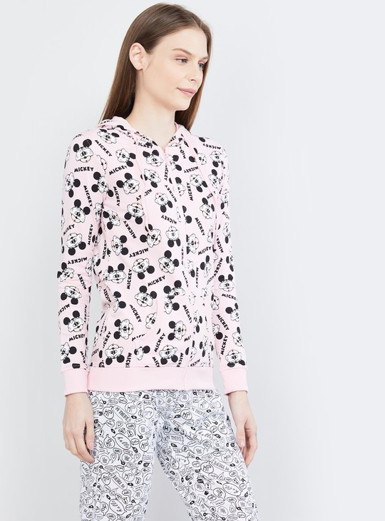 MAX Printed Hooded Lounge Sweatshirt
