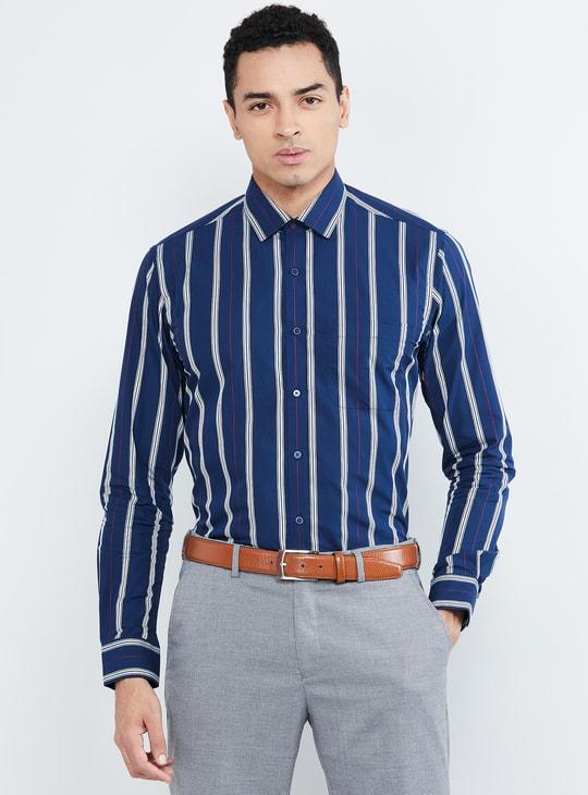 MAX Striped Slim Fit Formal Shirt