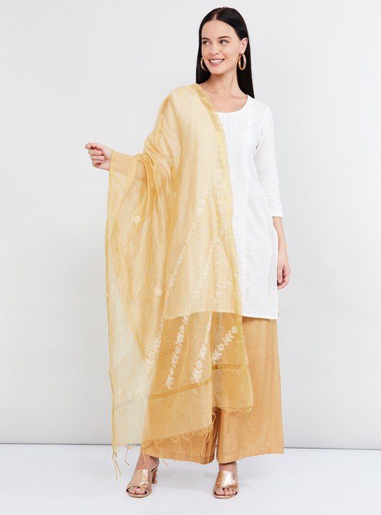 MAX Printed Dupatta with Fringes