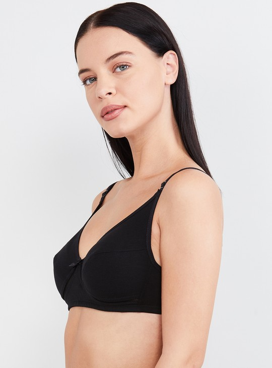 MAX Solid Non-Padded T-shirt Bra