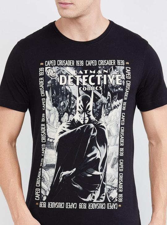 MAX Printed Crew Neck Slim T-shirt