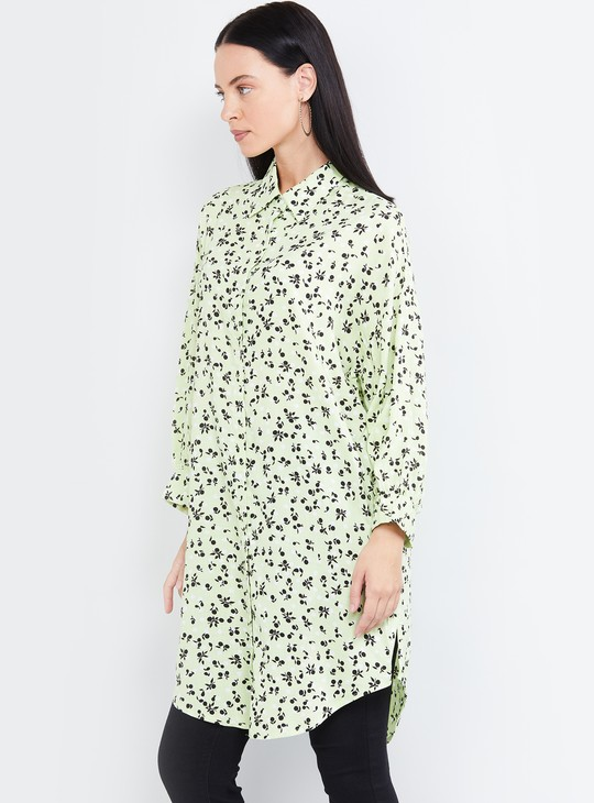 MAX Printed Long Shirt