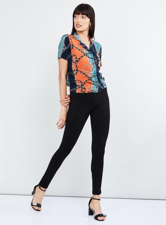 MAX Printed Short Sleeves Eco Liva Shirt