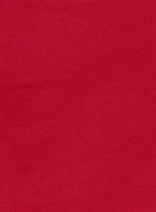 MAX Printed Short Sleeves Cropped T-shirt