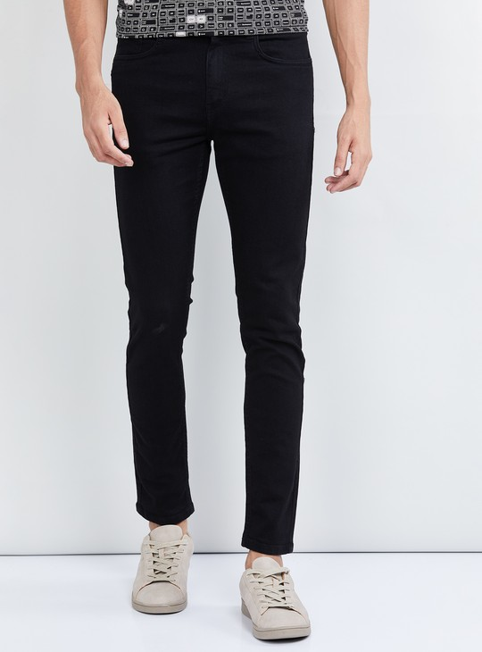 MAX Solid Ultra-Skinny Fit Jeans