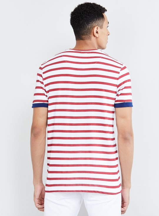 MAX Striped Short Sleeves T-shirt