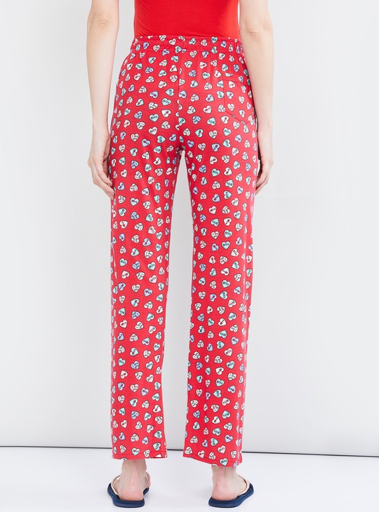 MAX Printed Pyjama Pants with Drawstring Waist