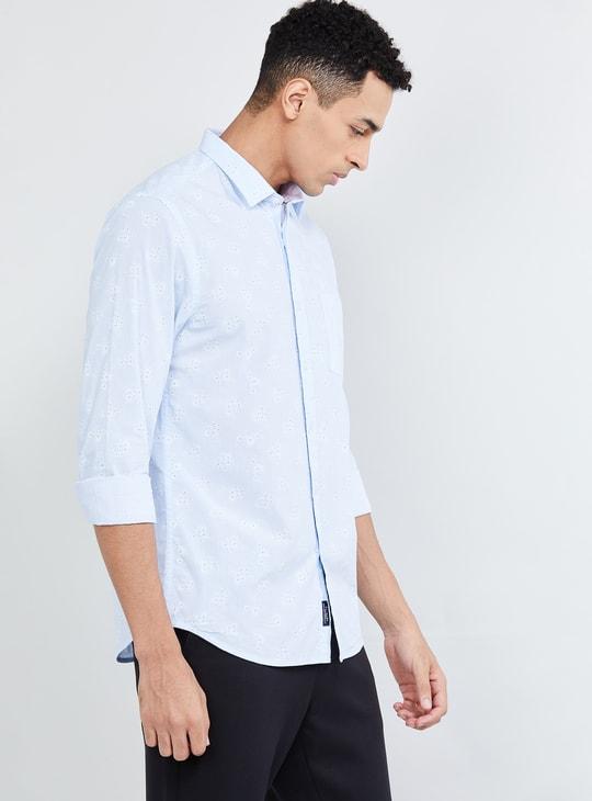MAX Floral Print Smart Fit Casual Shirt