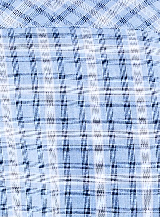 MAX Checked Heathered Regular Fit Casual Shirt