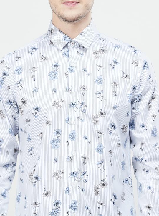 MAX Printed Full Sleeves Regular Fit Casual Shirt