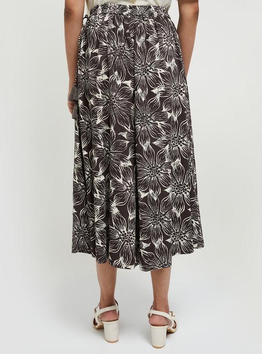 MAX Floral Print Culottes