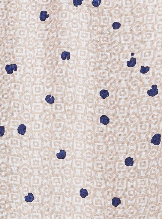 MAX Printed Handkerchief Hem Eco Liva A-line Kurta