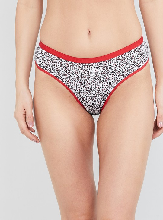 MAX Printed Hipster Panties- Pack of 3