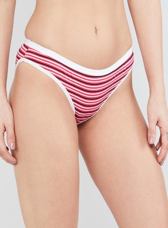 MAX Printed Elasticated Bikini Panty - Set of 3 Pcs