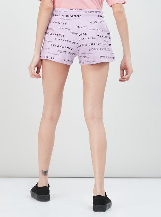 MAX Printed Liva Sports Shorts