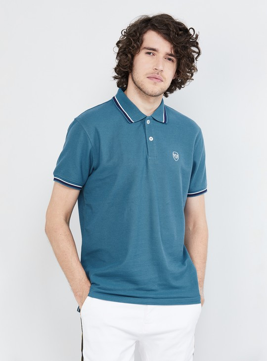 MAX Solid Short Sleeves Regular Fit Polo T-shirt