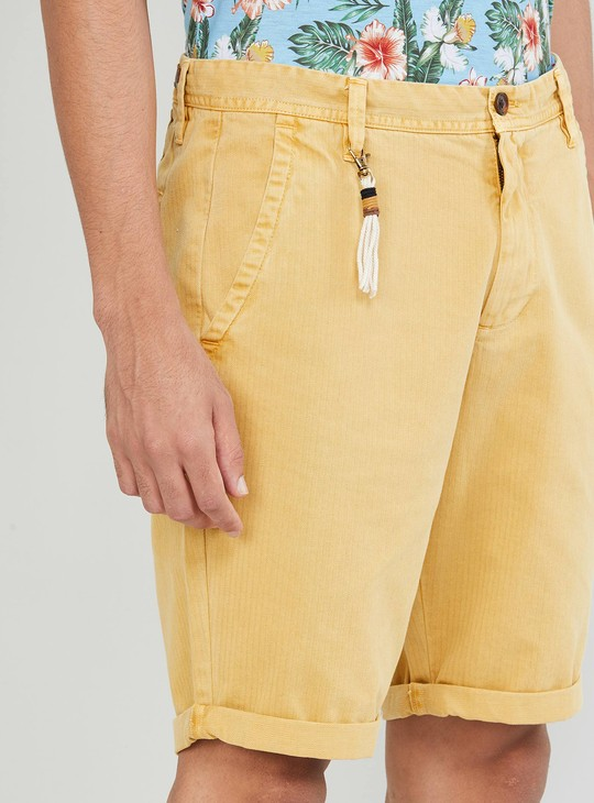 MAX Solid Casual Shorts