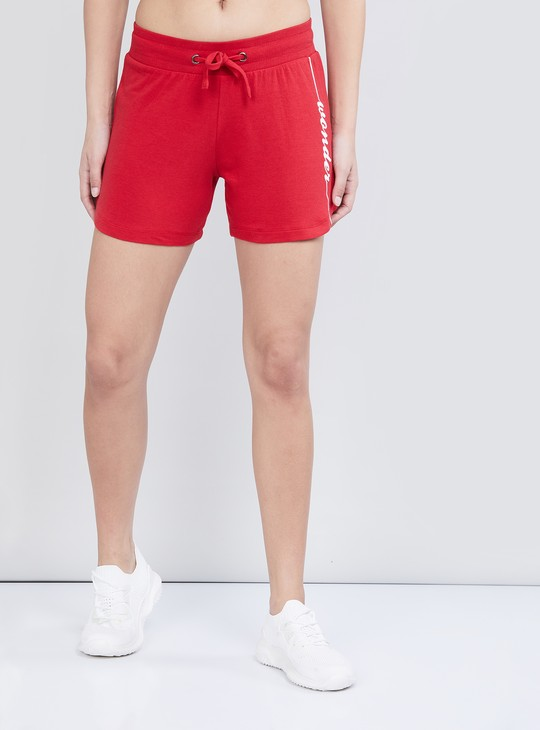 MAX Solid Knitted Liva Sports Shorts