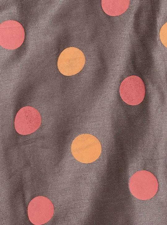 MAX Polka-Dot Print Palazzo Pants