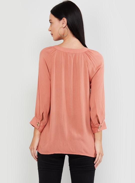 MAX Solid Casual Shirt