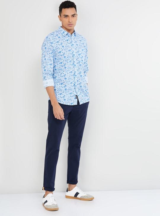 MAX Printed Smart Fit Casual Shirt