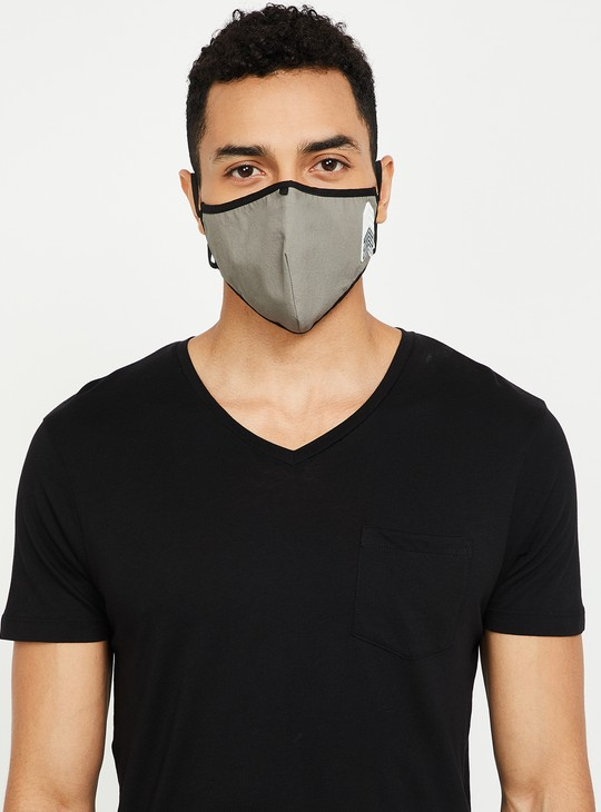 MAX Men Printed 3-Layered Masks- Pack of 3