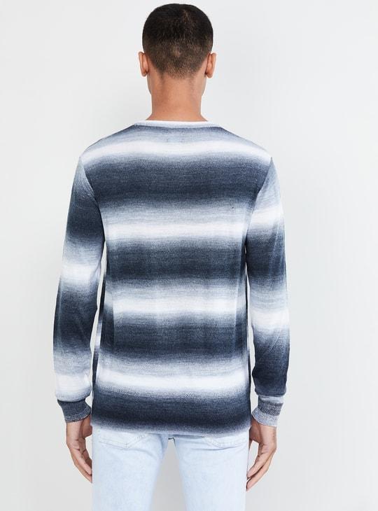 MAX Ombre-Design Crew Neck Sweater