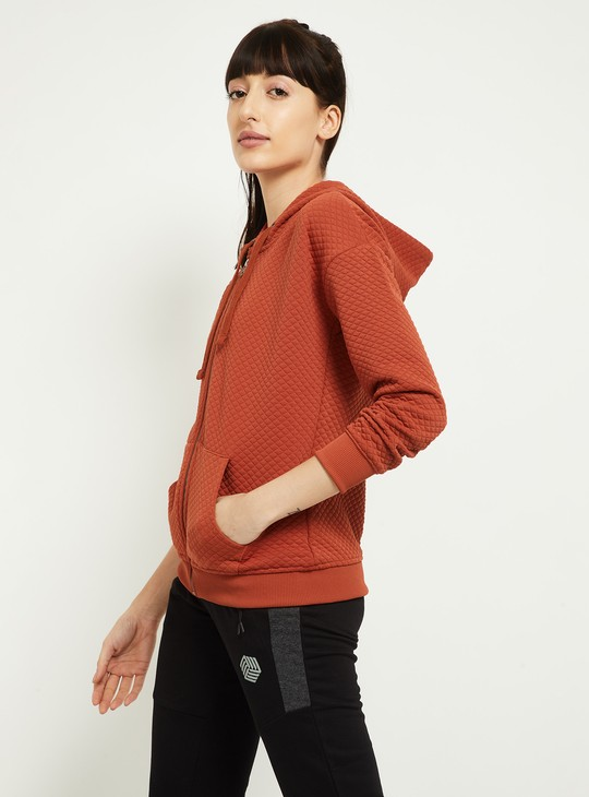 MAX Quilted Hooded Jacket