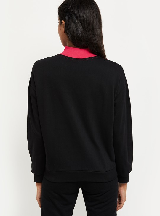 MAX Colourblock Zip-Front Jacket