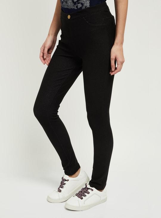 MAX Solid Skinny Fit Treggings