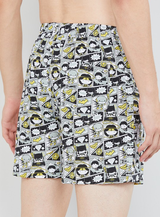 MAX Printed Elasticated Boxer Shorts