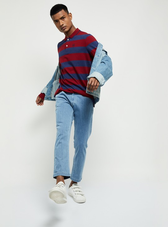 MAX Striped T-shirt with Long Sleeves
