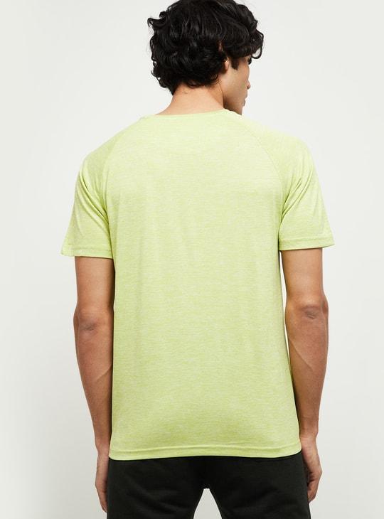 MAX Gymtech Textured Crew-Neck Training T-shirt