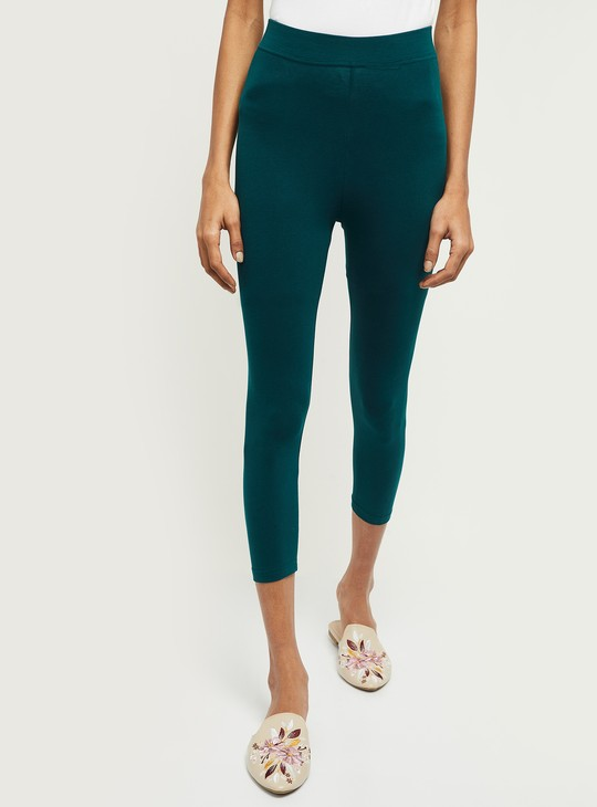 MAX Solid Cropped Leggings