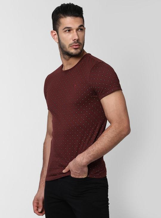 PETER ENGLAND Printed Short Sleeves T-shirt