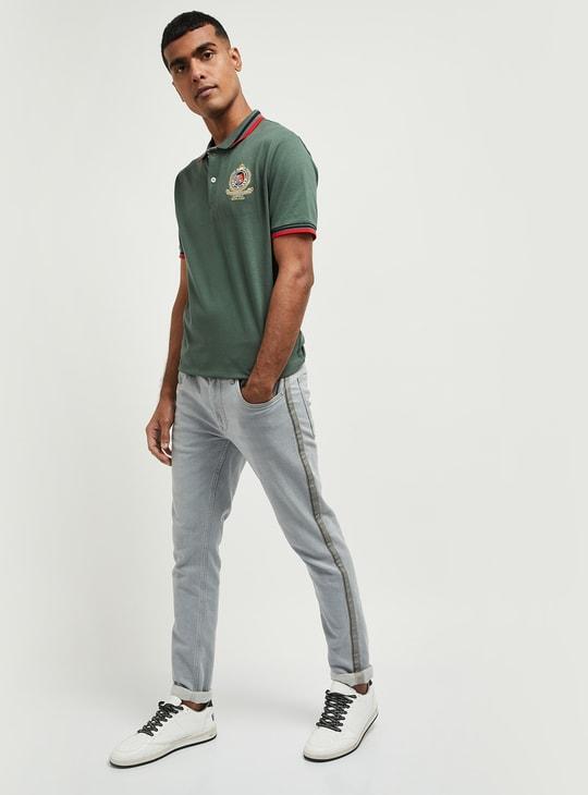 MAX Appliqued Regular Fit Polo T-shirt