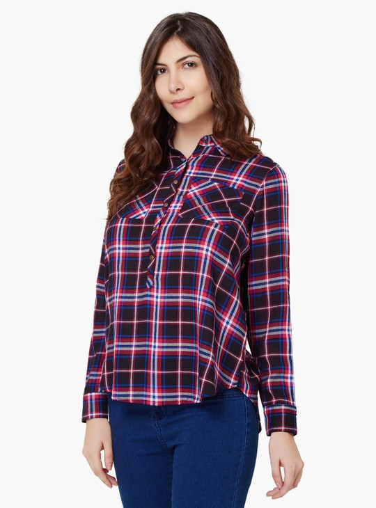MAX Full Sleeves Check Shirt