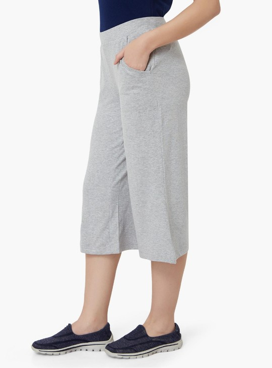 MAX Solid Pocketed Culottes