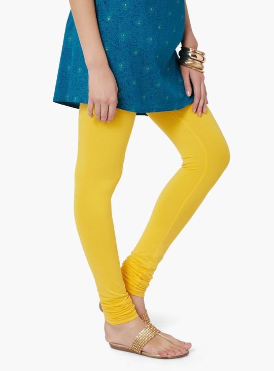 MAX Solid Churidar Leggings