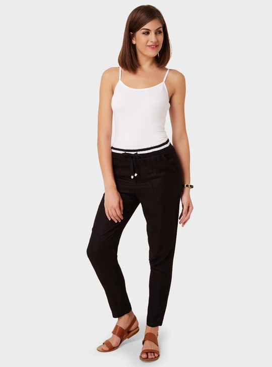 MAX Tie-Up Relaxed Pants